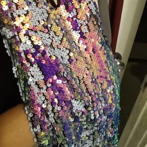 Sequence mini dress